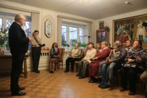 Участники презентации книги Правозащитник Нина Терехова 11 10 2018 Фото Kostroma.News