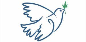 КСМ логотип Голубь прямоугольник