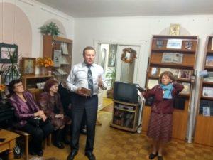 Игорь Свешников на презентации книги Правозащитник Нина Терехова 11 10 2018 Фото Kostroma.News